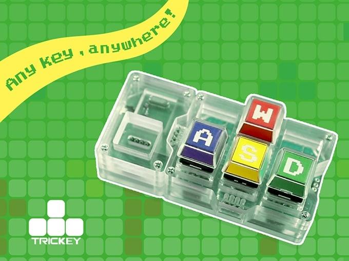 trickey tastiera