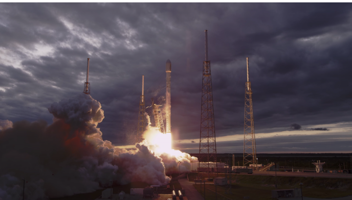 video 4k spacex