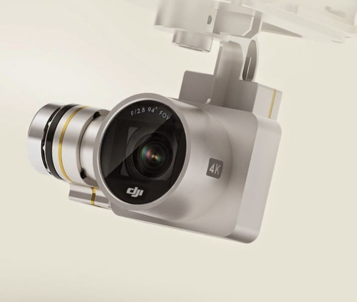 videocamera Phantom 3