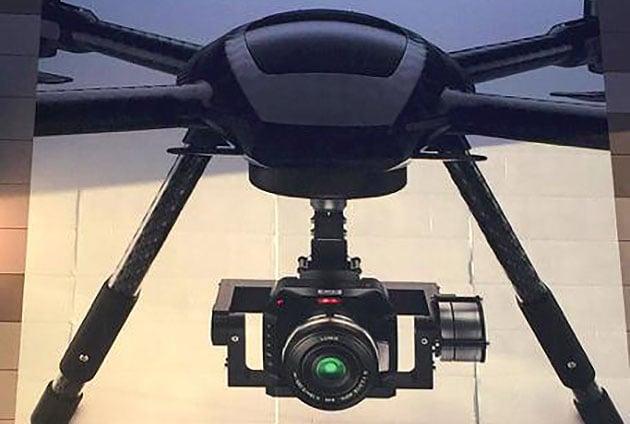 videocamera droni blackmagic