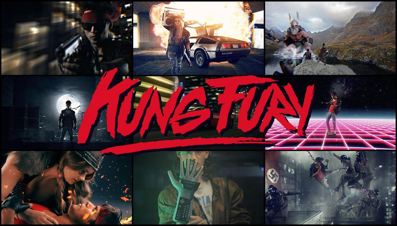 Kung Fury Copertina