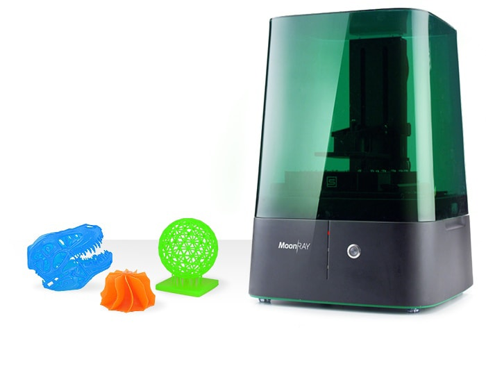 MoonRay: la stampante 3D professionale alla portata di tutti (foto e video)