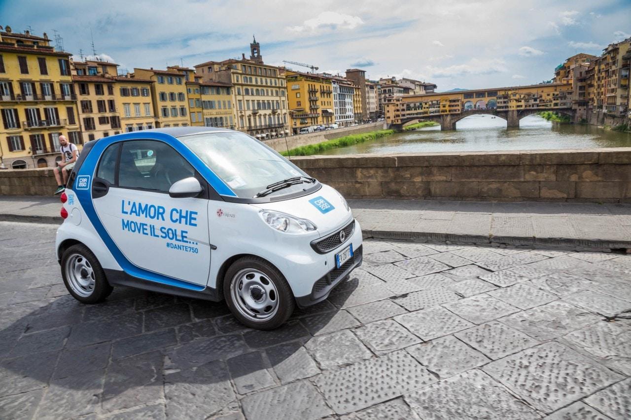 """Il carsharing car2go diventa """"il più economico d'Italia"""", ma solo a Firenze e Prato"""