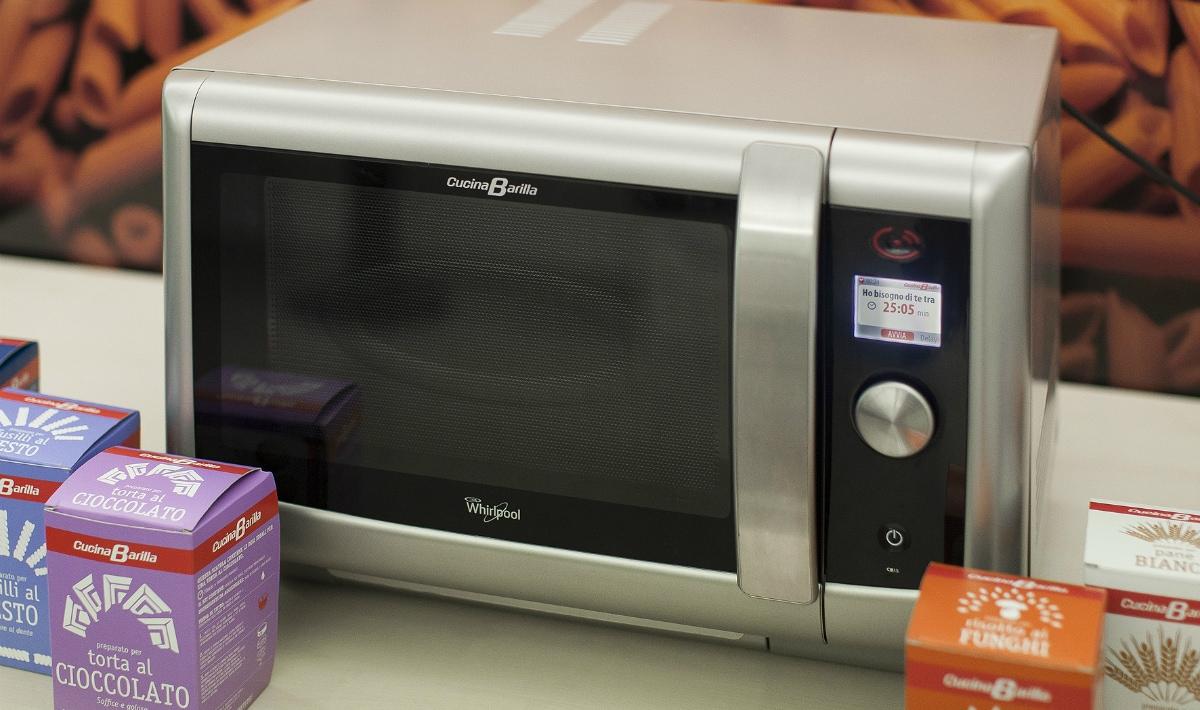 Barilla lavora con whirlpool al forno che cucina da solo smartworld - Cucina barilla whirlpool ...