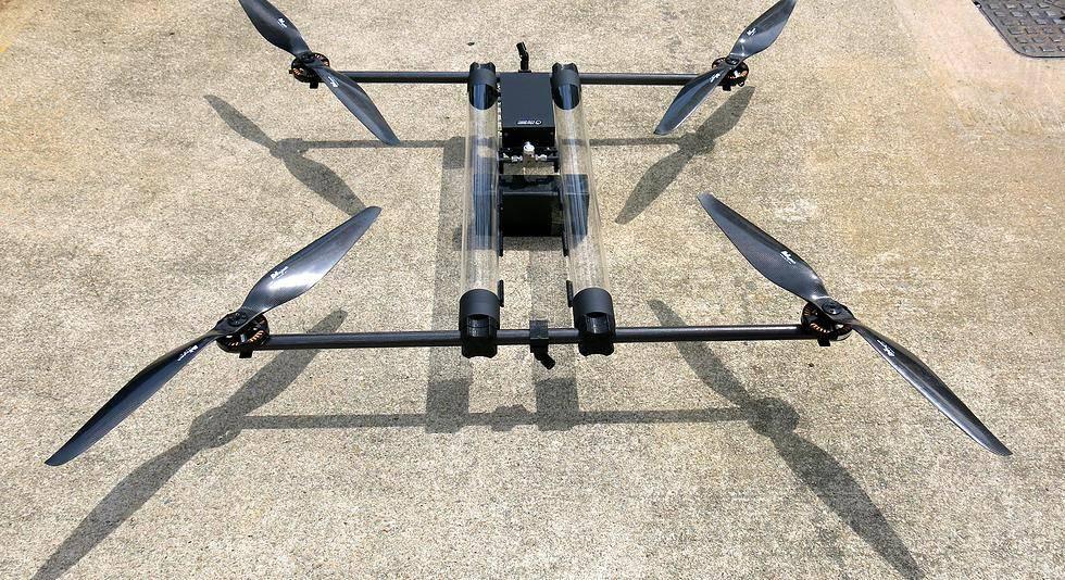Ecco il drone ad idrogeno, in grado di volare per quattro ore ininterrotte