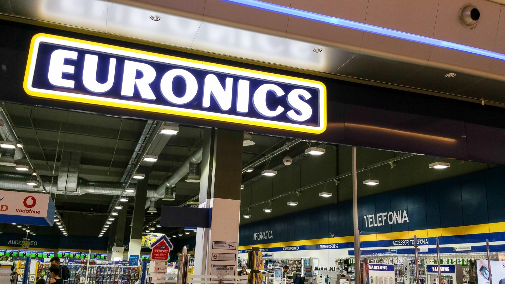 Volantino Euronics con tasso zero e sconti su smartphone, notebook, TV e molto altro (foto)