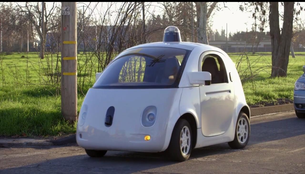 google car sulla strada