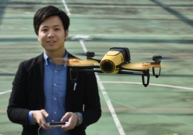 Tokyo vieta l'uso di droni nei parchi della città
