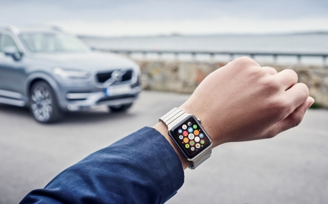 volvo on call smartwatch
