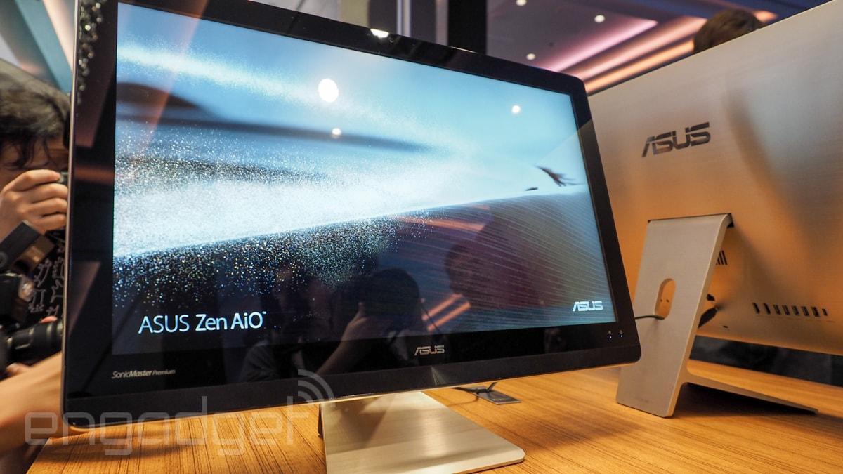 Nel nuovo all-in-one ASUS c'è design, una videocamera 3D e USB 3.1