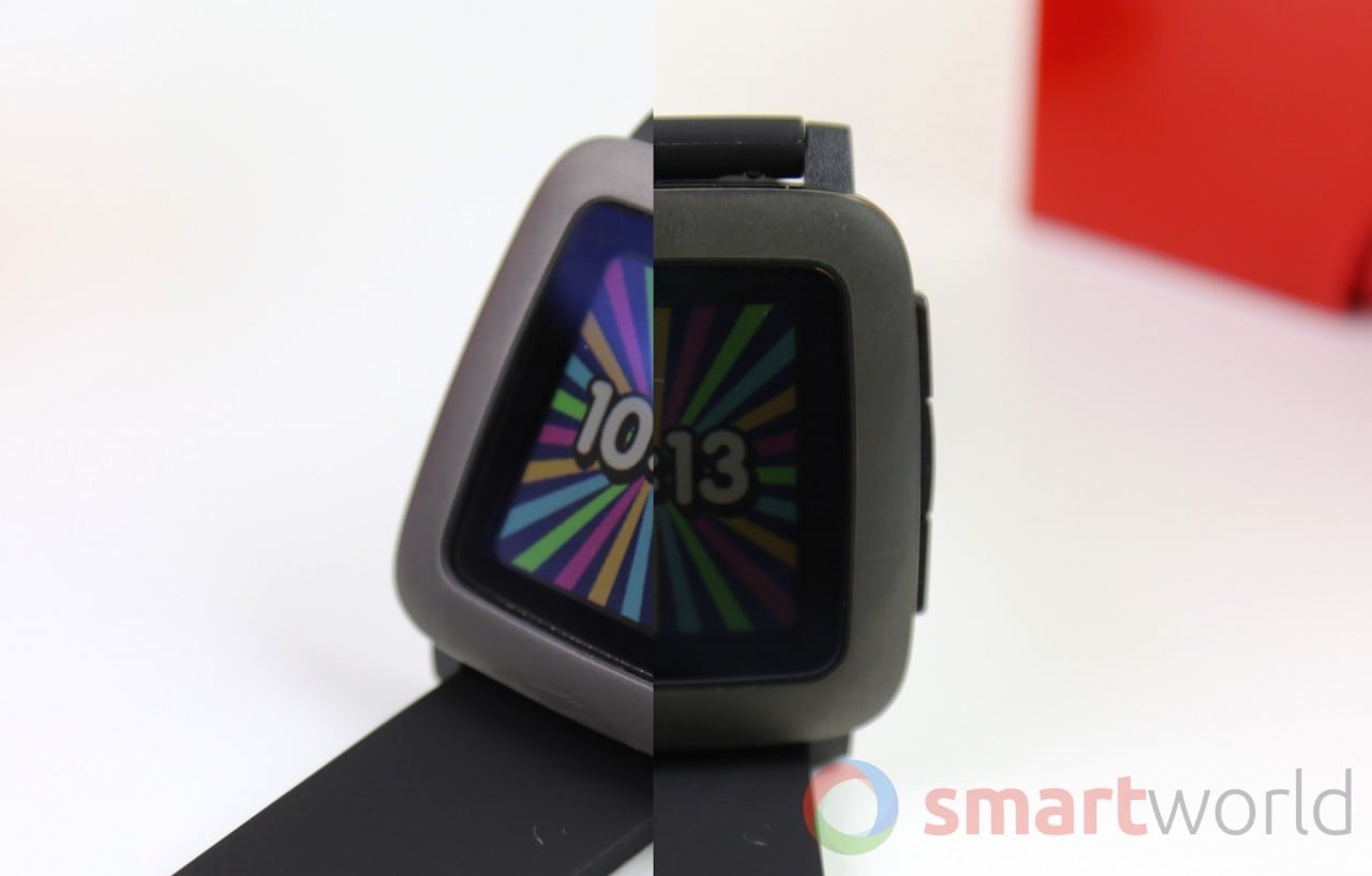 L'ultimo firmware per Pebble Time migliora la visibilità del display