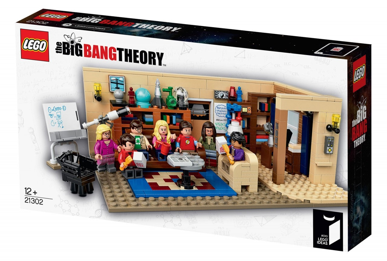 LEGO The Big Bang Theory Box