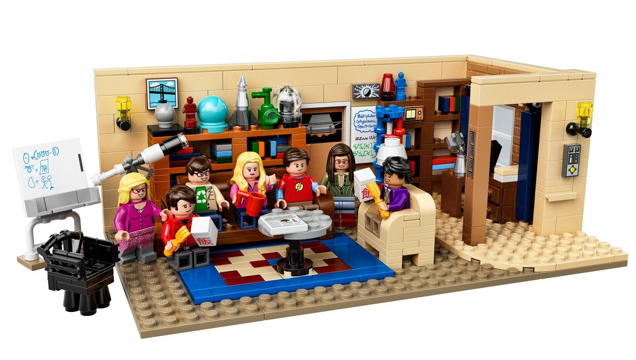 LEGO The Big Bang Theory Set