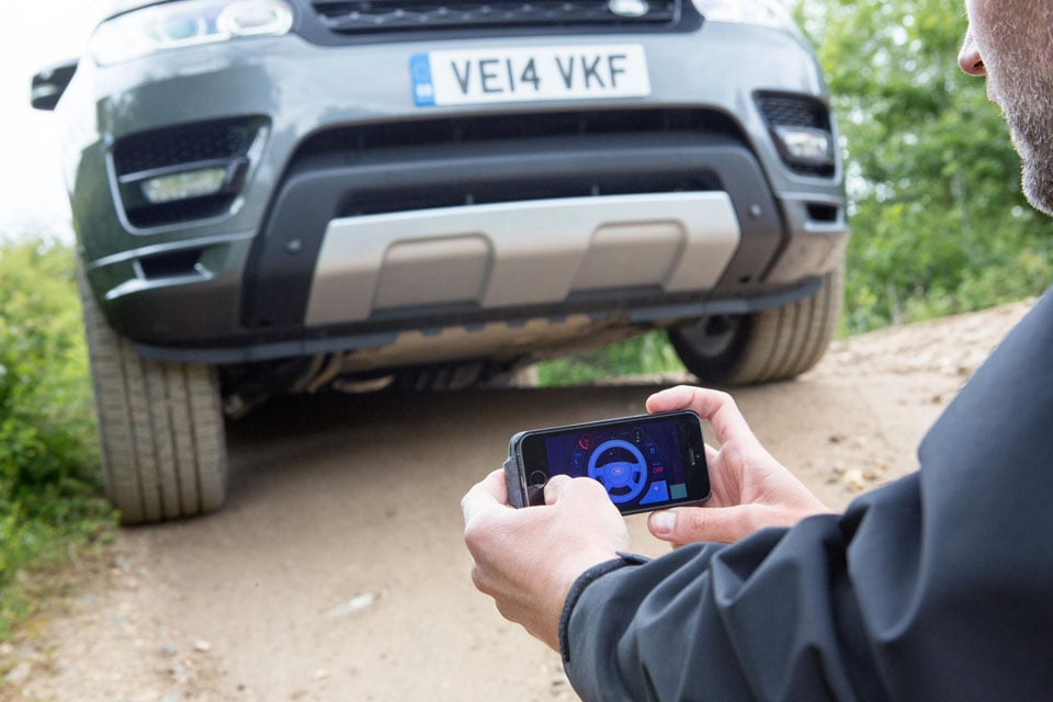 Land Rover Smartphone
