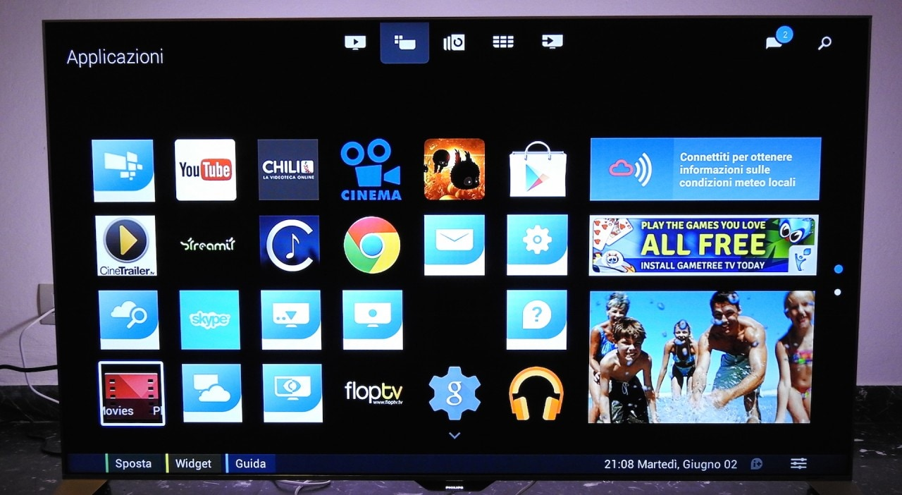 Philips Smart TV con Android 8100 - 2