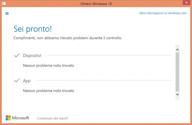 Prenota aggiornamento windows 10 6