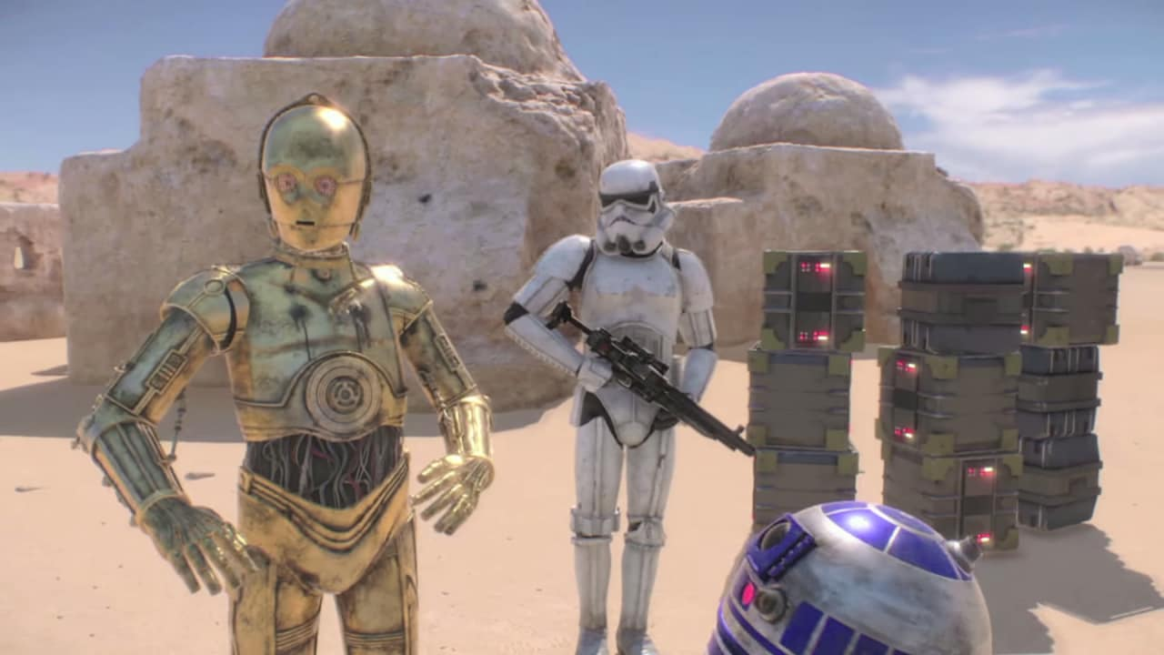 Star Wars realtà virtuale