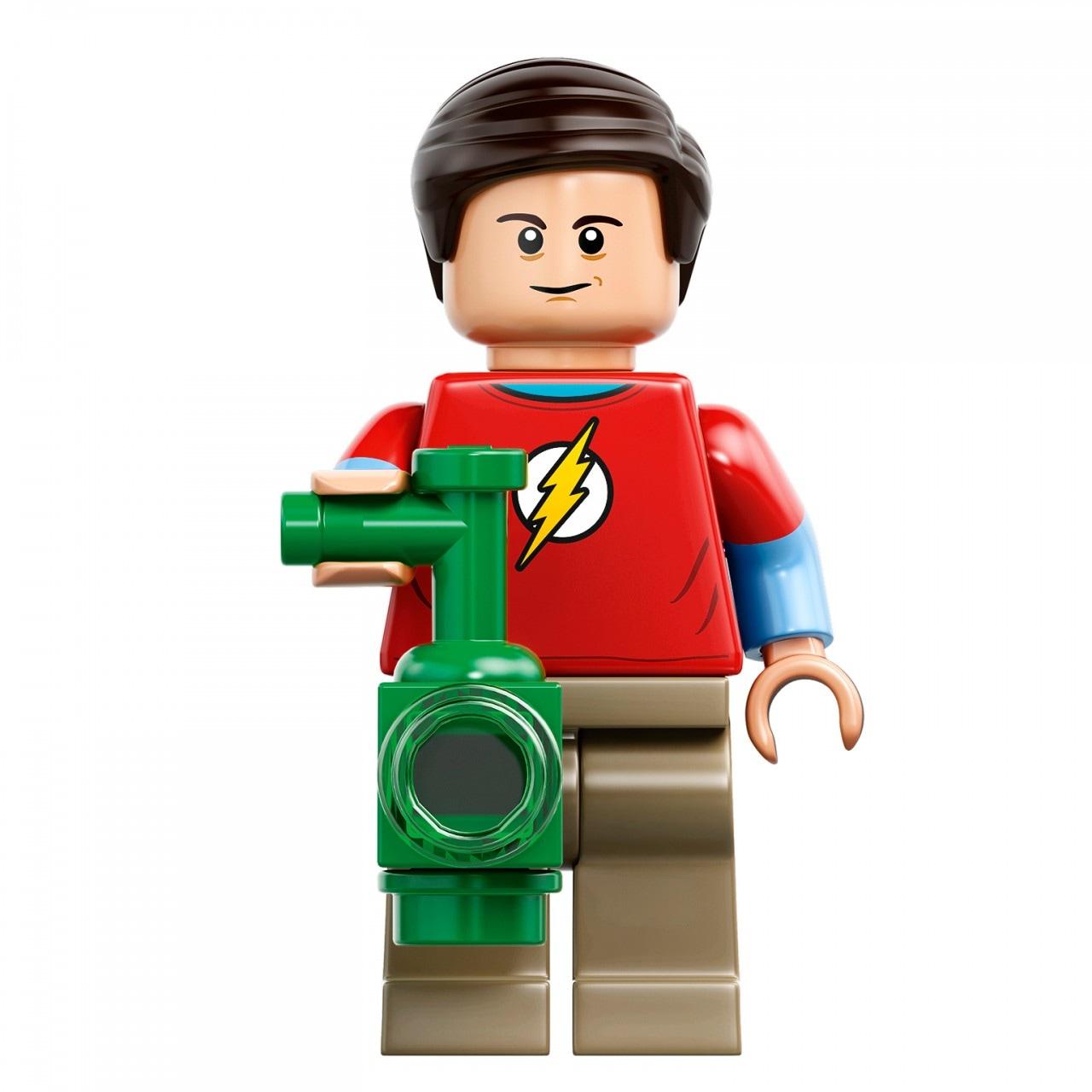 The Big Bang Theory LEGO Sheldon