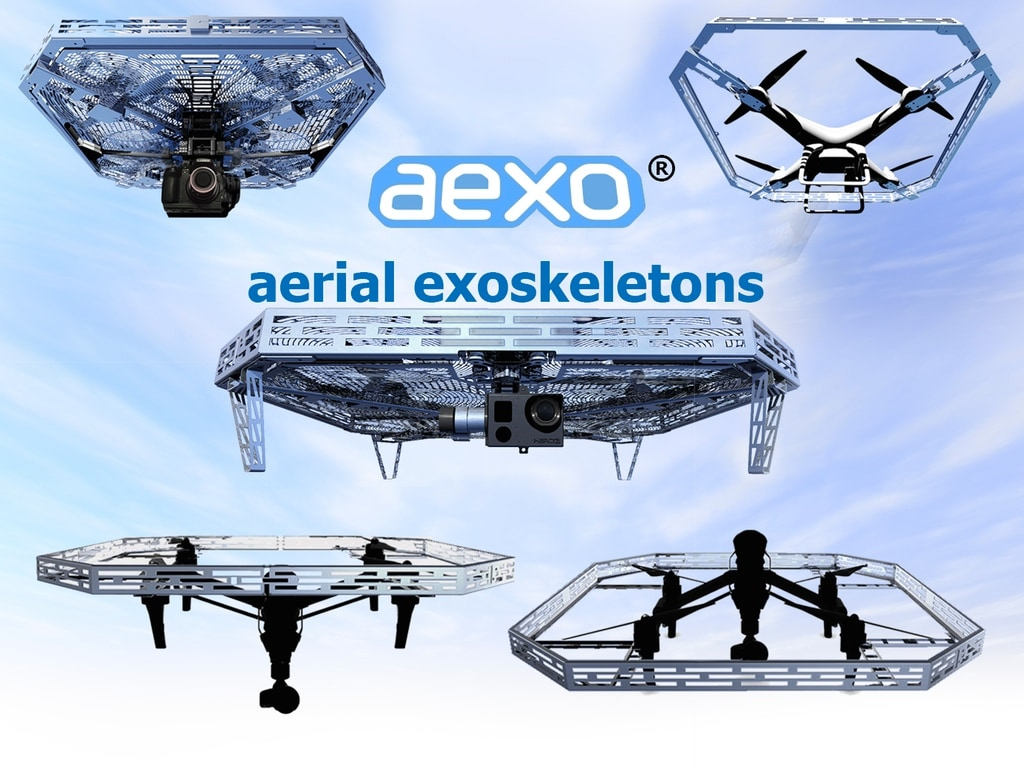 aexo protezione droni