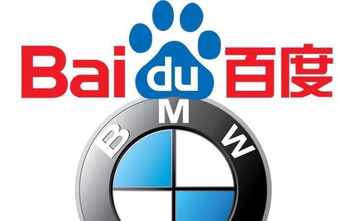 baidu bmw guida autonoma