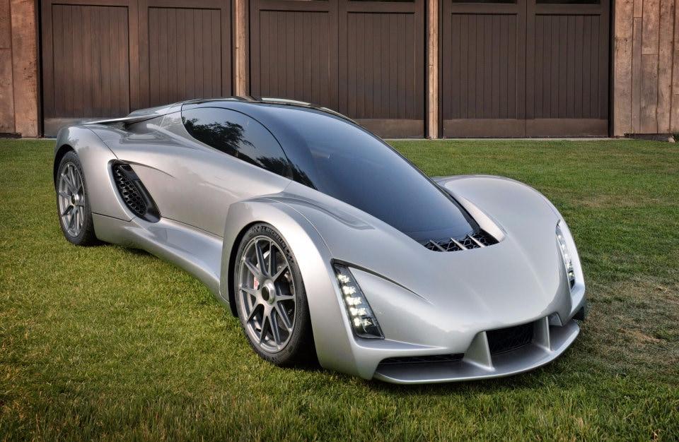 Blade: la supercar leggera, stampata in 3D