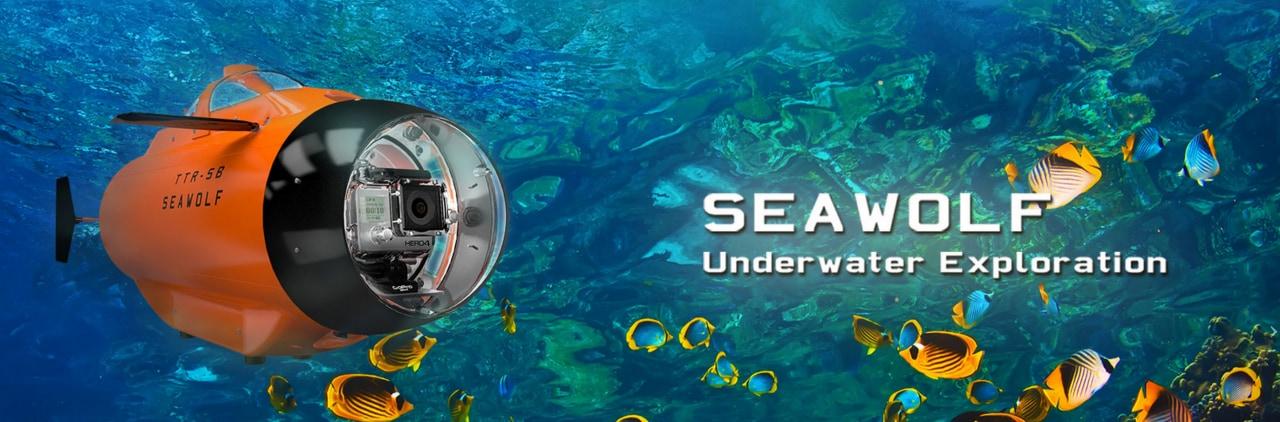 drone subacqueo gopro