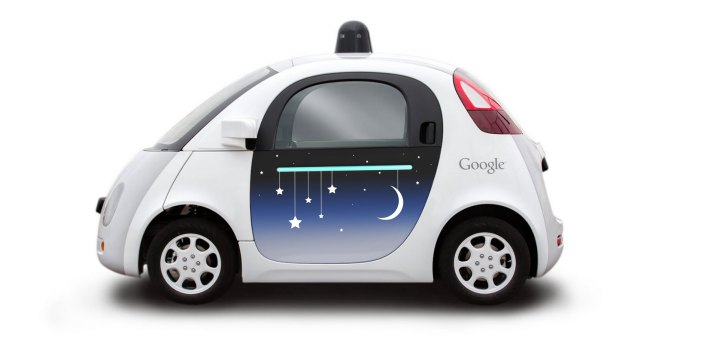 Le foto che vi portano dentro le auto a guida autonoma di Google (foto)