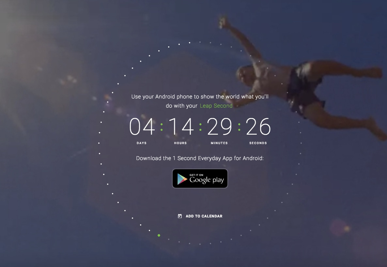 leap secondo google