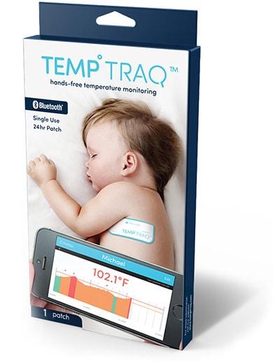 Un termometro smart per misurare costantemente la febbre (video)