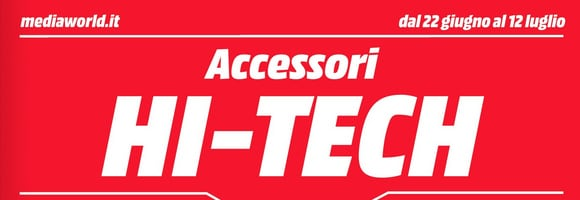 volantino mediaworld accessori hi tech