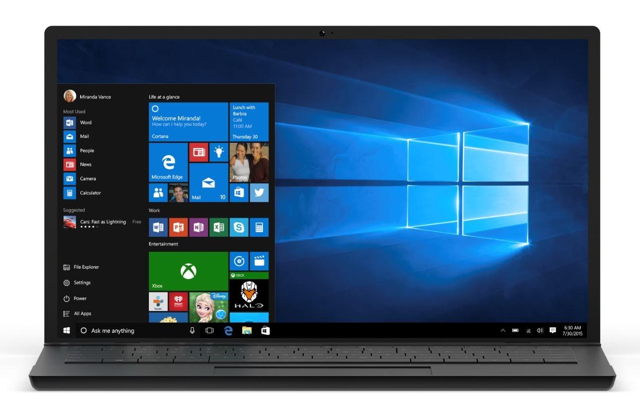 Rilasciata una nuova build di Windows 10: ecco le novità