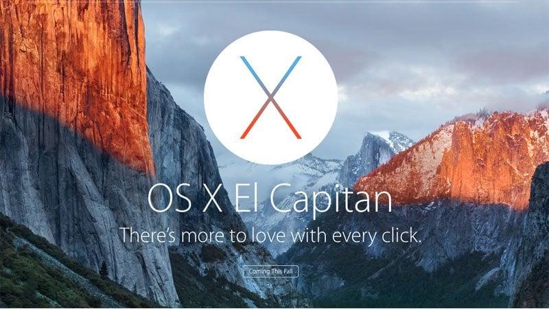OS X El Capitan si aggiorna: ecco le novità della 10.11.1