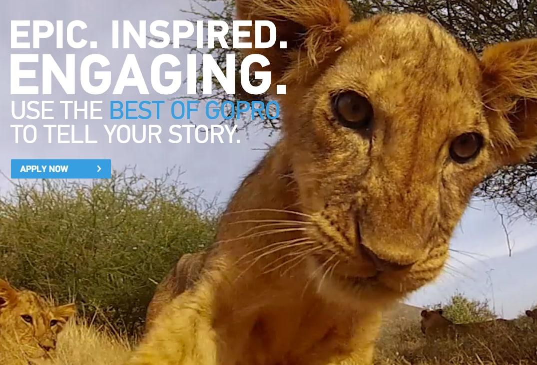 GoPro lancia Licensing, un sito dove i professionisti possono vendere video estremi