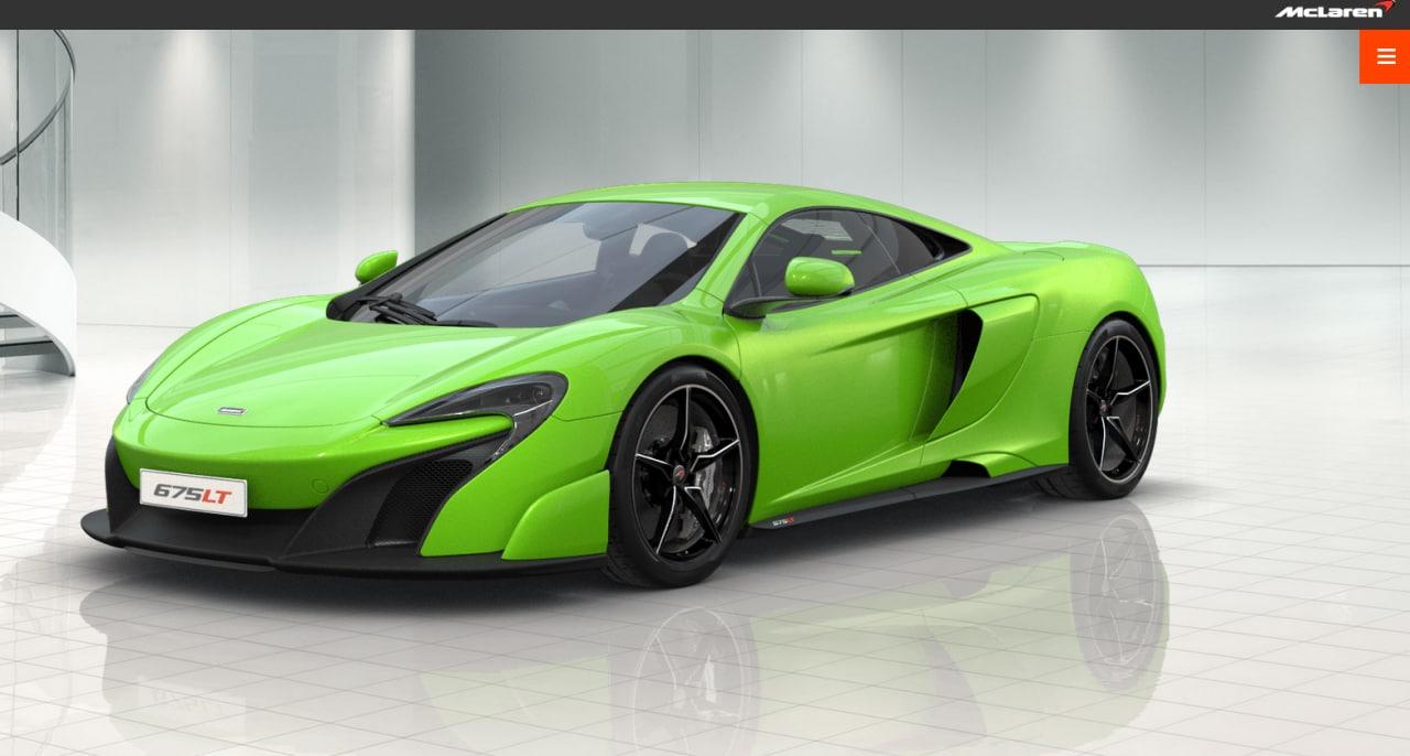 McLaren 675LT: la spettacolare supercar fa sfoggio delle sue performance (video)