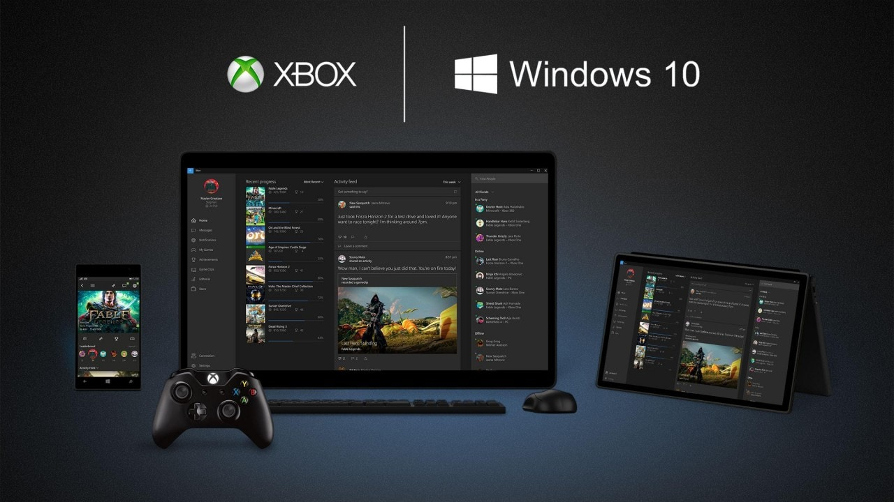 Windows 10 Xbox app - final