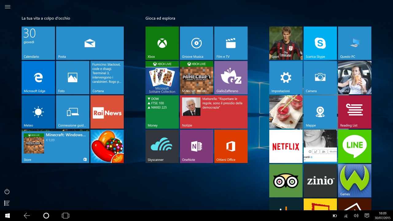 Come passare a Windows 10 da chiavetta USB o DVD
