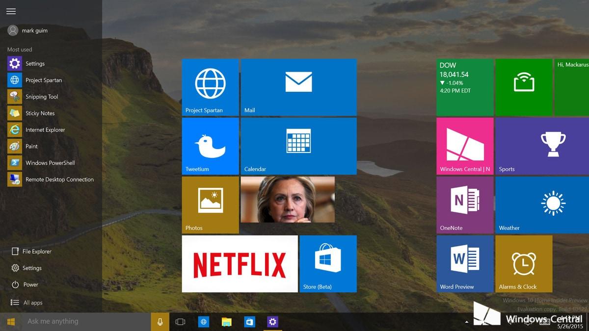 Windows 10 store limiti account