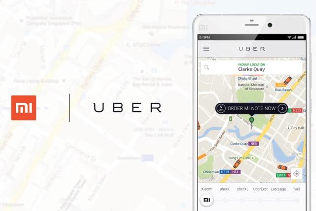 Xiaomi Consegne Uber Mi Note
