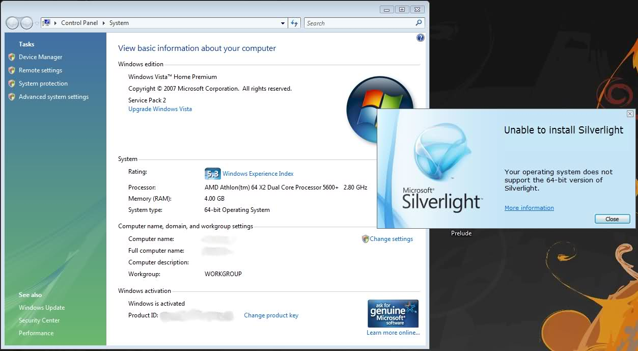 addio microsoft silverlight