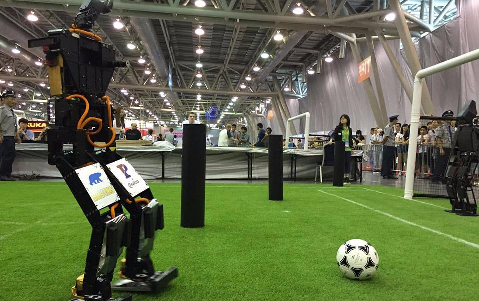 campionato calcio robotico