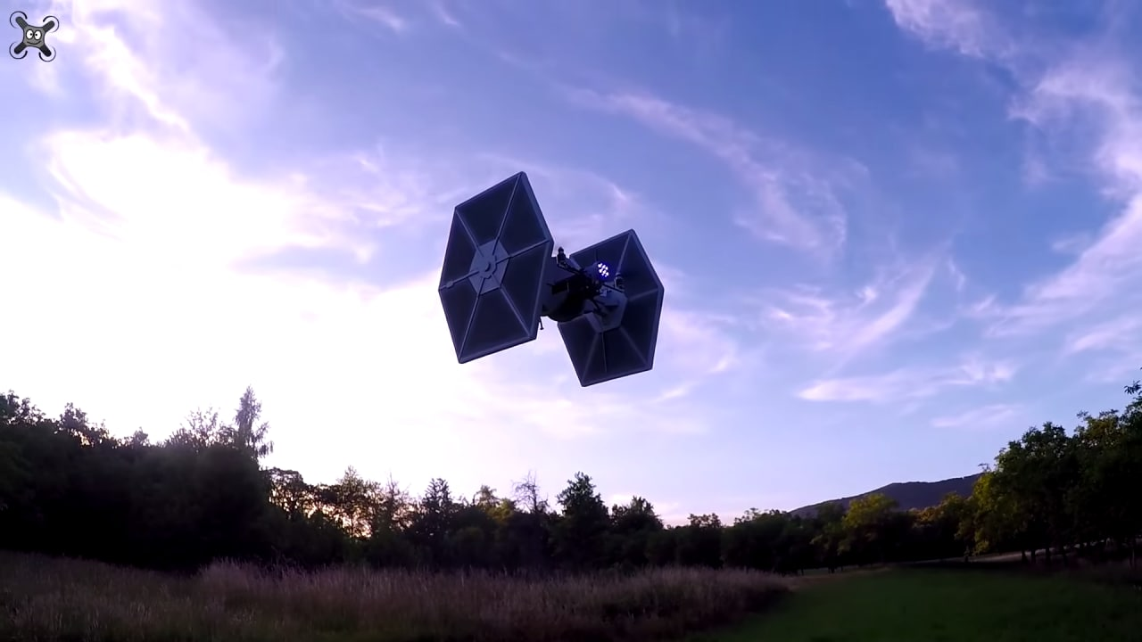 drone tie fighter