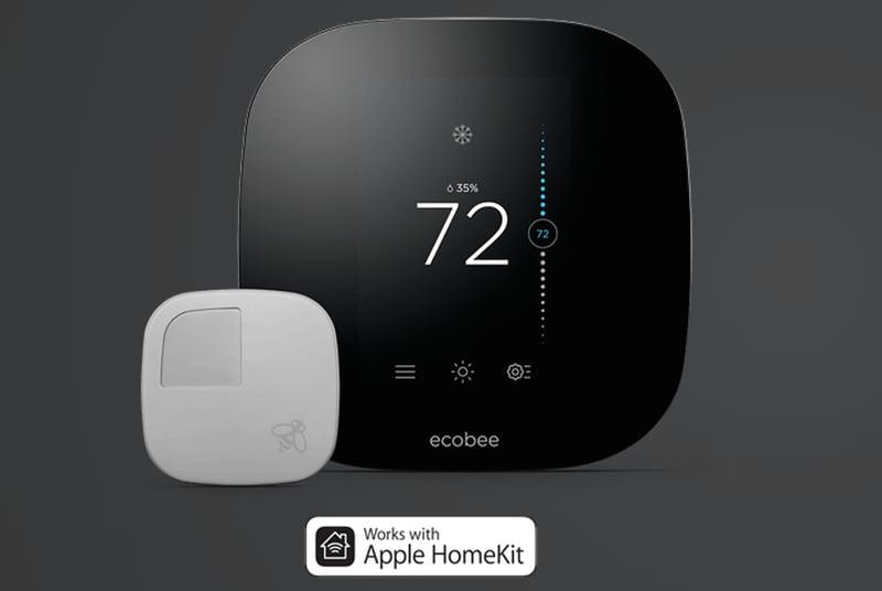 ecobee3 termostato homekit