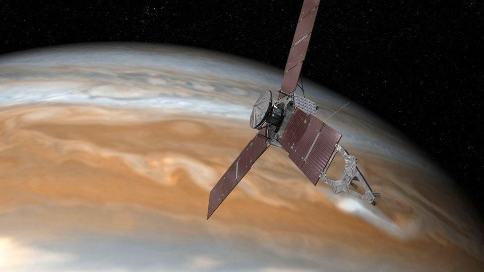 La NASA si prepara alla scoperta di Giove grazie alla sonda Juno