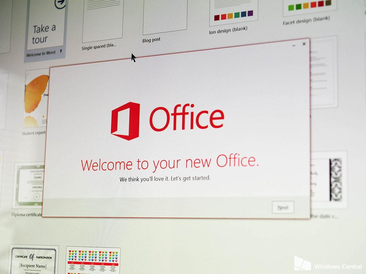 office 2016 splashscreen