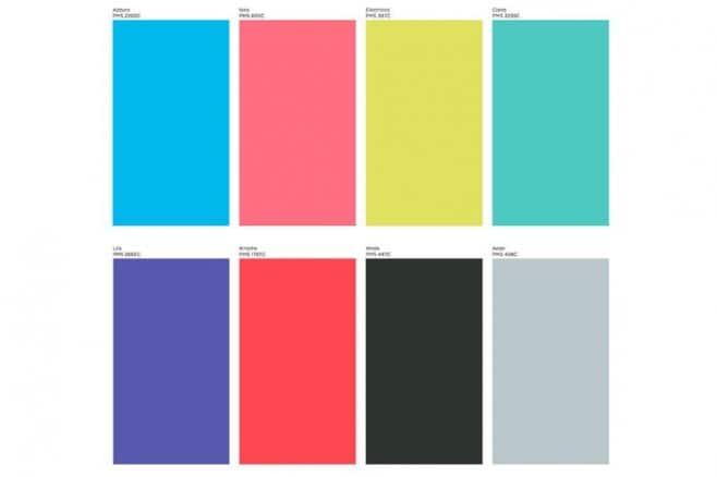 palette colori logi logitech