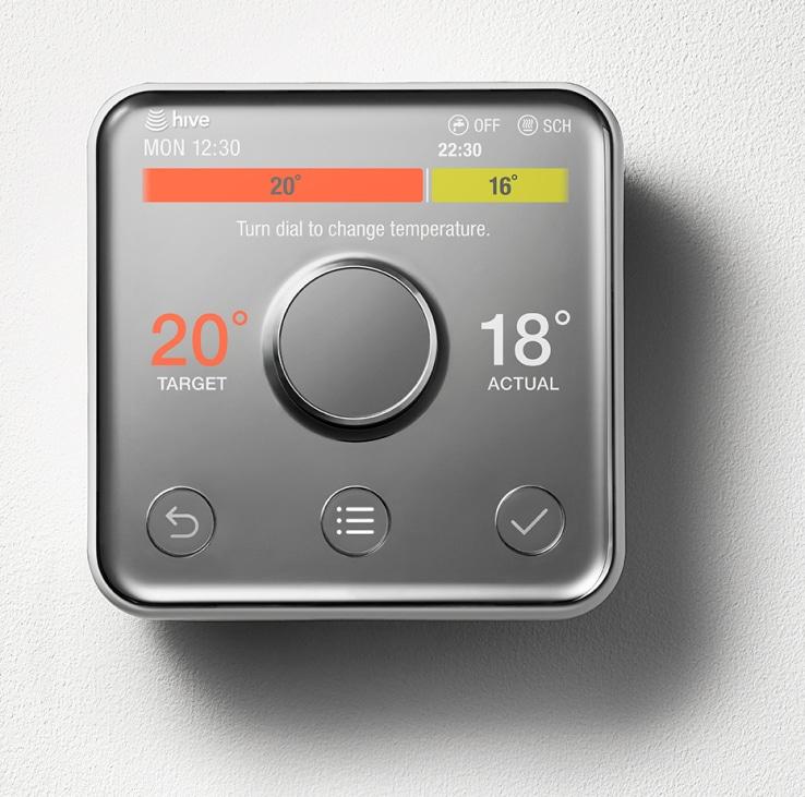 Hive lancia una nuova gamma di prodotti per la casa smart