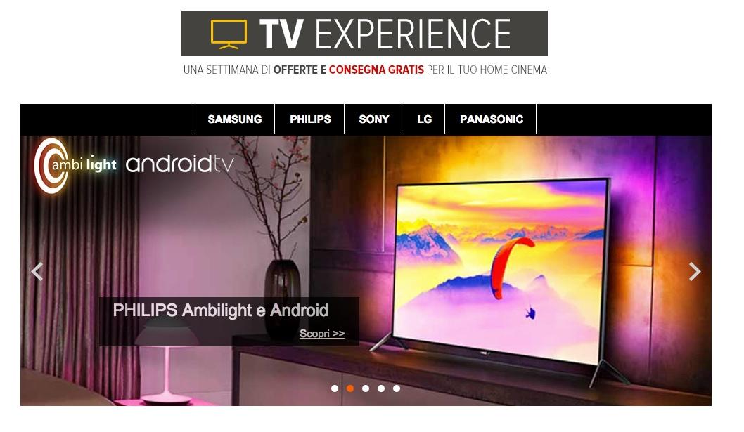 tv experience eprice offerte tv