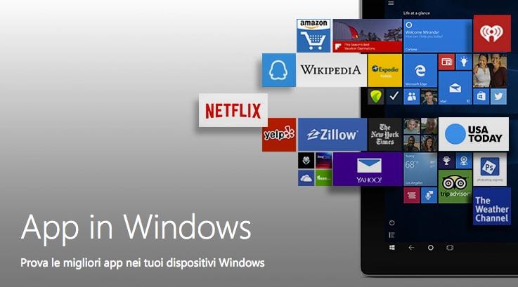 windows store app unificate
