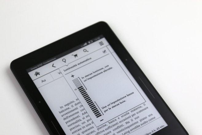 Amazon Kindle Voyage 3G Recensione16