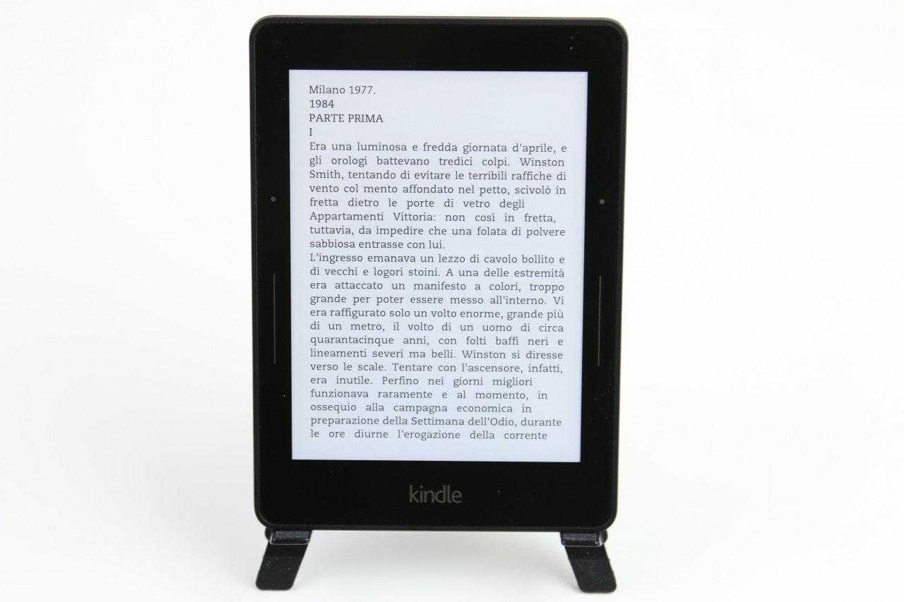 Amazon Kindle Voyage 3G, la recensione